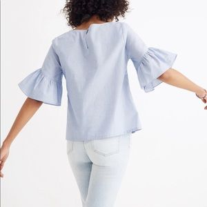 Flirty Madewell Blue Top